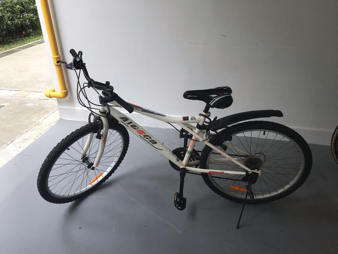 302198ef724 Aleoca Ensenguire road bike, Bicycles & PMDs, Bicycles, Road Bikes on  Carousell