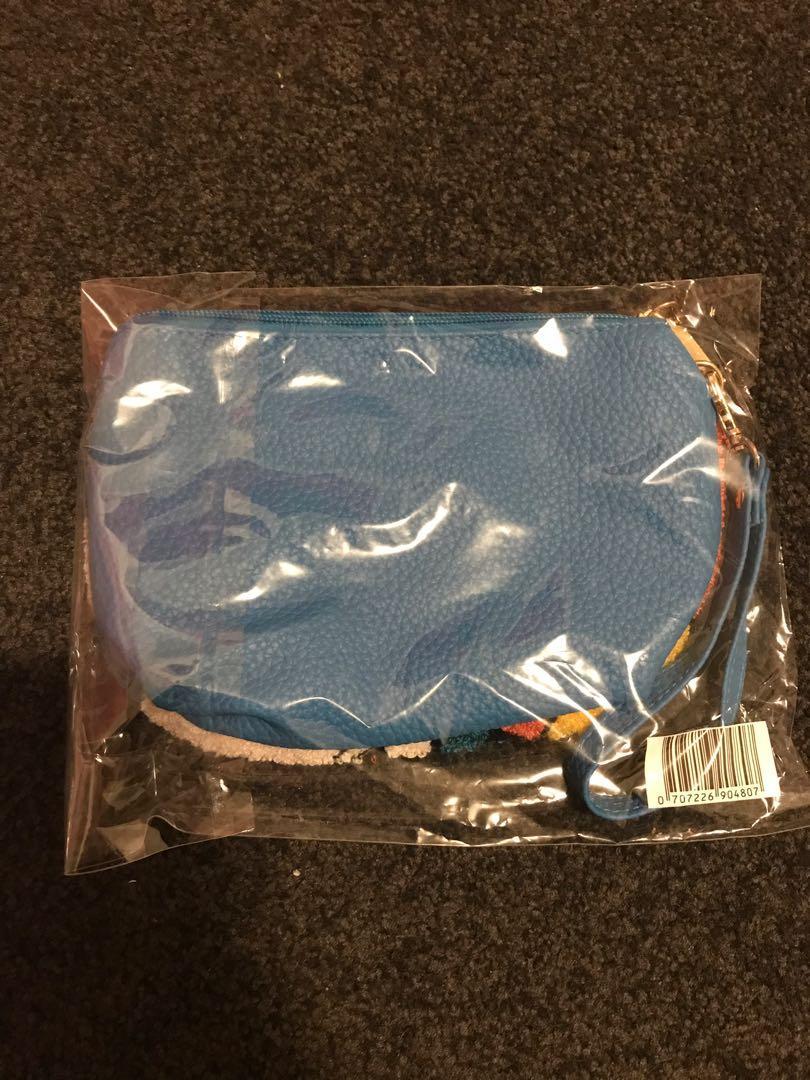 Alice In Wonderland 3 Items Bundle Apron/card Holder/pouch Purse