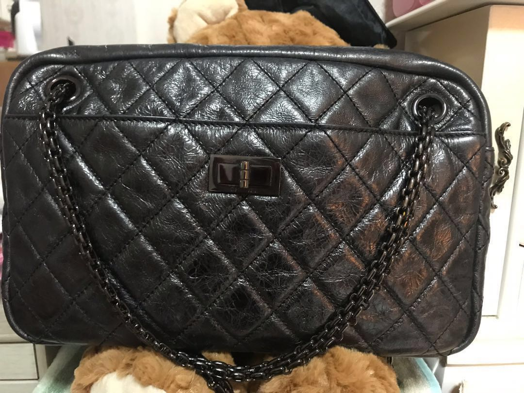 639809626daf Authentic Chanel Camera Bag, Luxury, Bags & Wallets, Sling Bags on Carousell