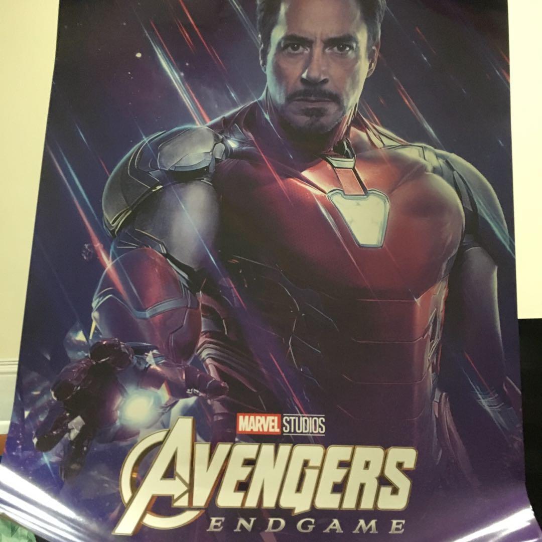 Avengers 4 Iron man poster