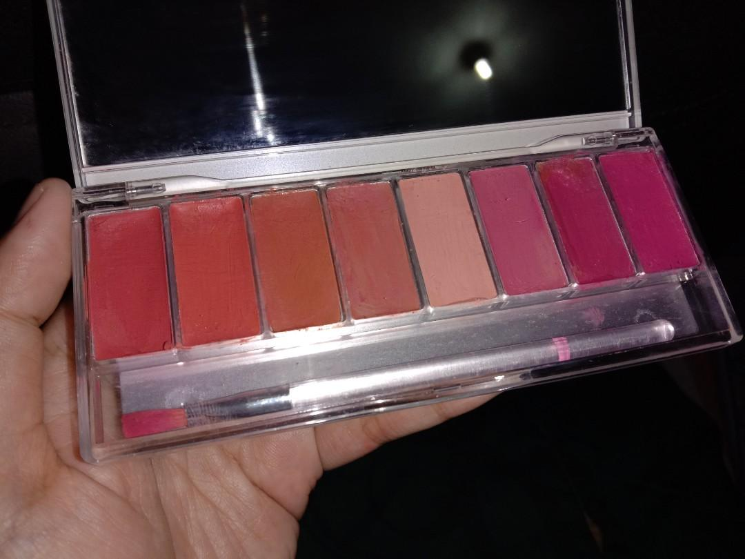 #BAPAU Wardah Lip Pallete Pinky Peach
