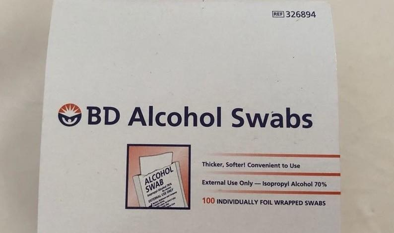 Bd alcohol swab and other diabetes product
