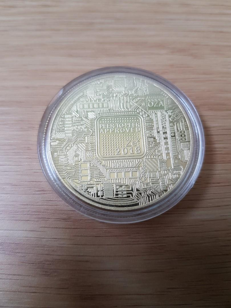 Bitcoin collector coin