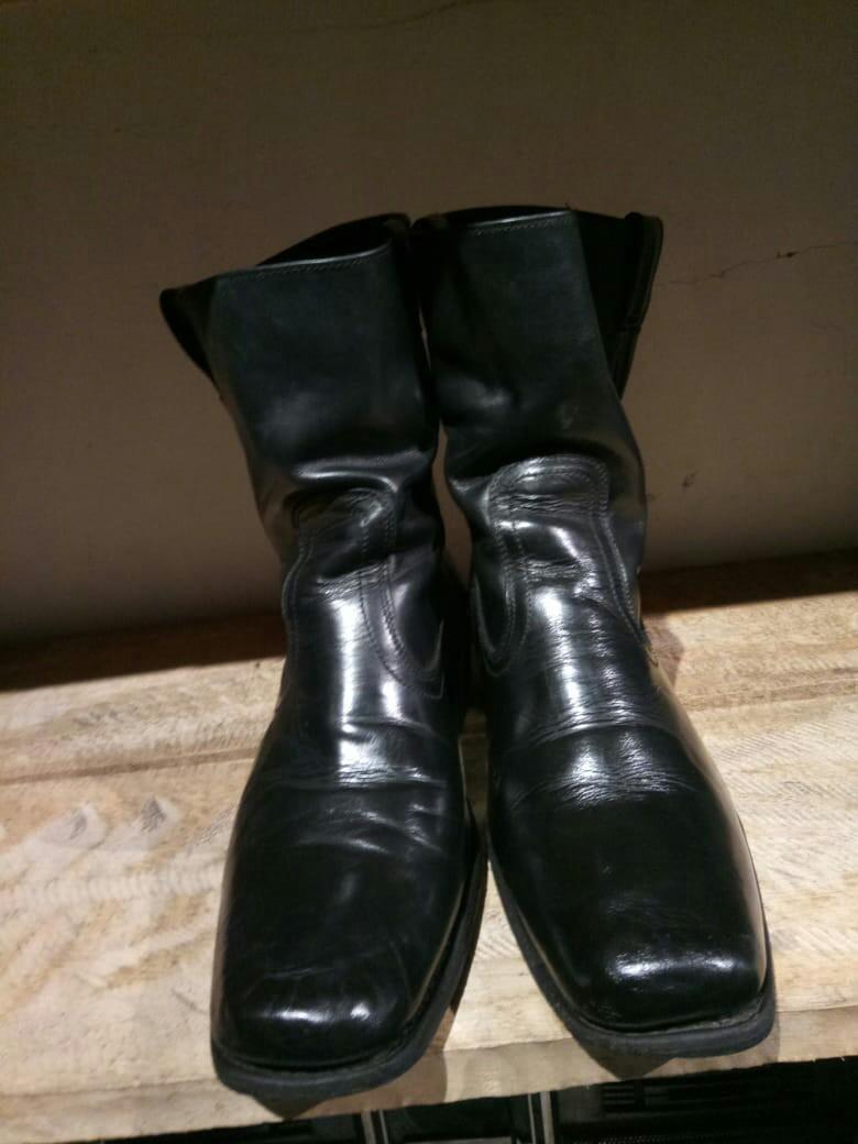 Black Boots Harley Davidson