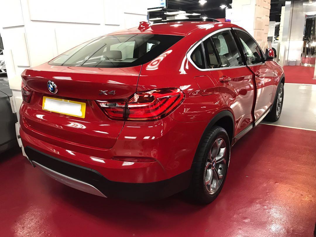 BMW X4 XLINE 2015