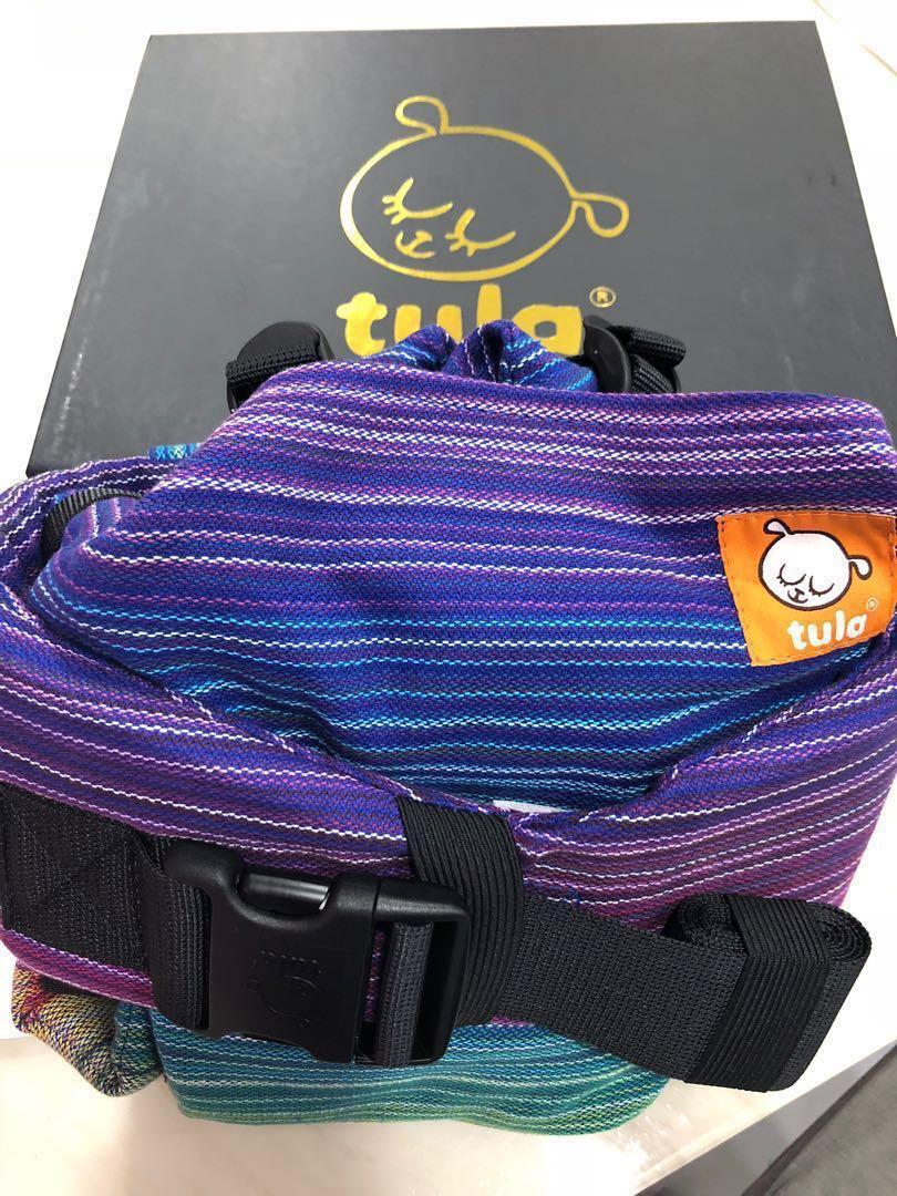 WTS Brand New FTG WC Tula Signature Baby Carrier - Girasol Magnificent Rainbow Azul Capitan