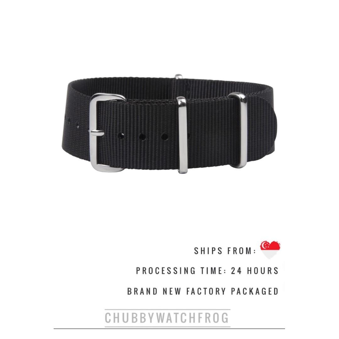 BRAND NEW NATO / ZULU STRAP - SHIPPED WITHIN SINGAPORE WITH DISCOUNT PRICING - DANIEL WELLINGTON SUITABLE