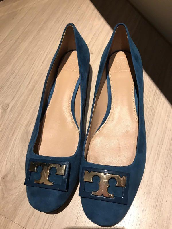 [Brand New] Tory Burch Suede Flats