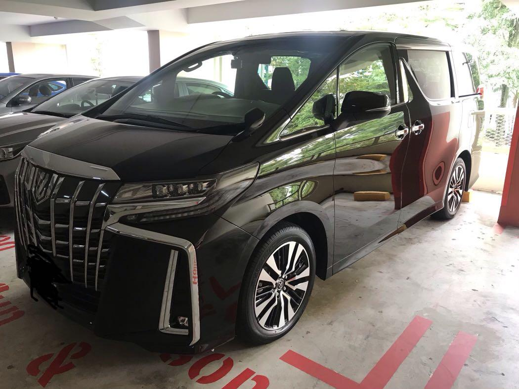 Brand new Toyota Alphard 2.5 SC model for take over