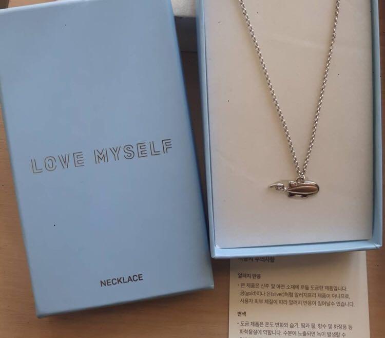 bts necklace love myself