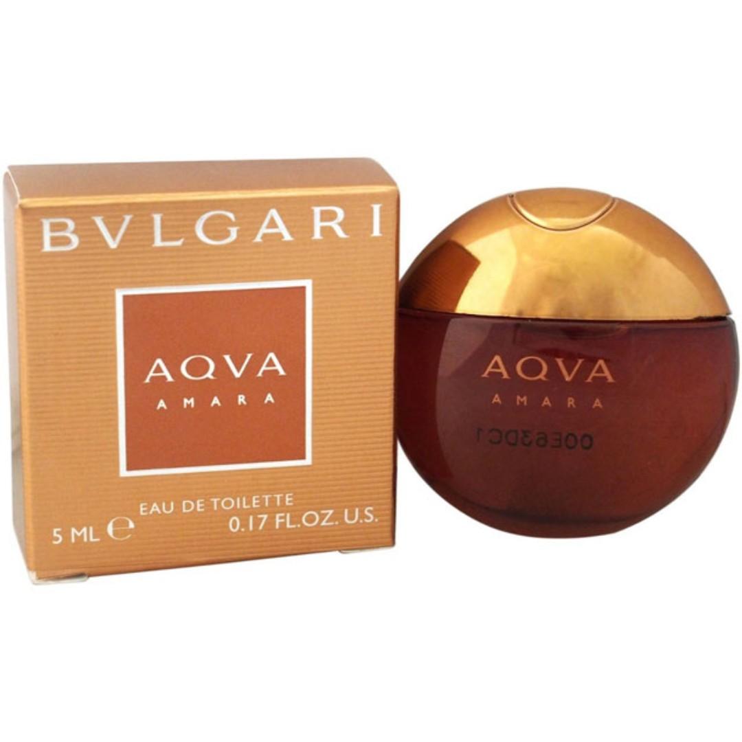 9f3fea8aba Bvlgari AQVA Amara EDT Miniature for Men (5ml) Eau de Toilette ...