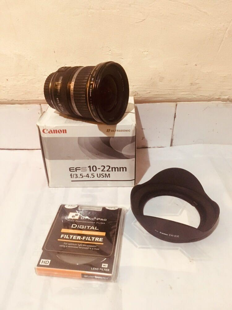 Re-Price : Canon EFS 10-22 mm