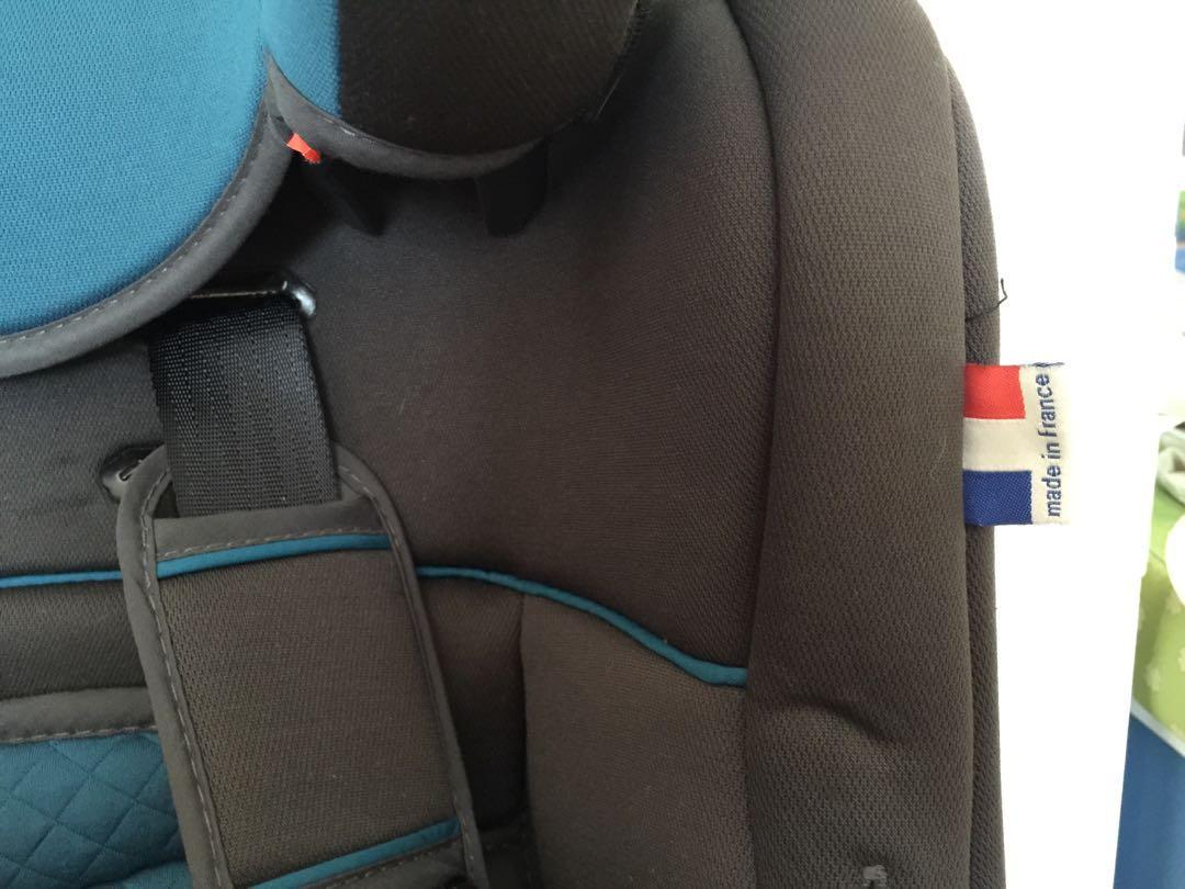 Car Seat: 頗新淨,法國製造