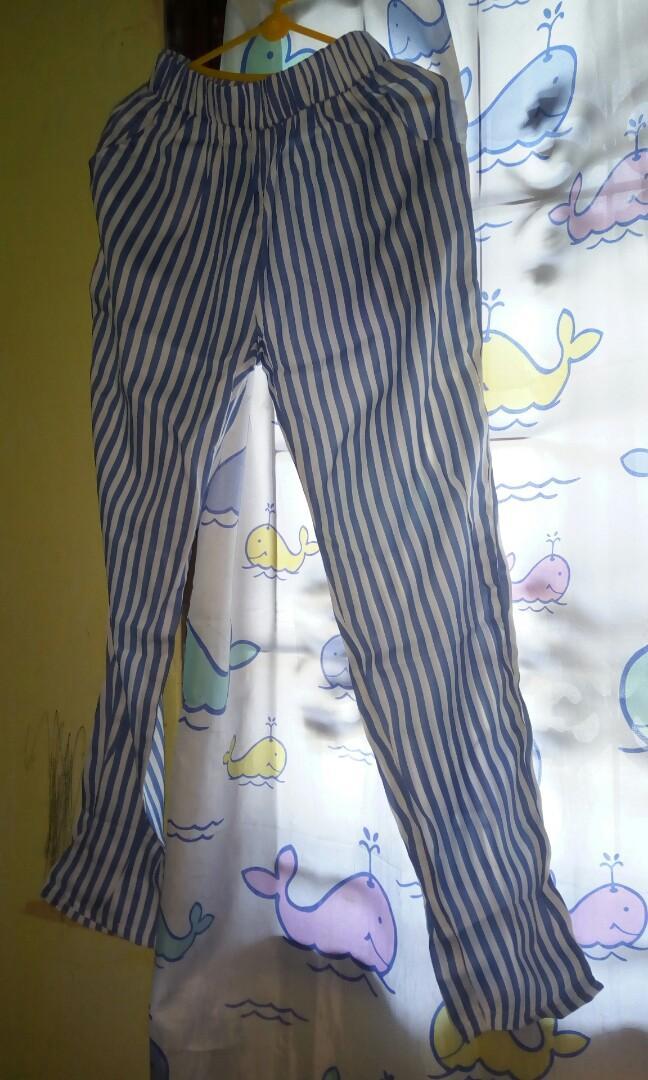 Celana Katun Stripe #baimpaula