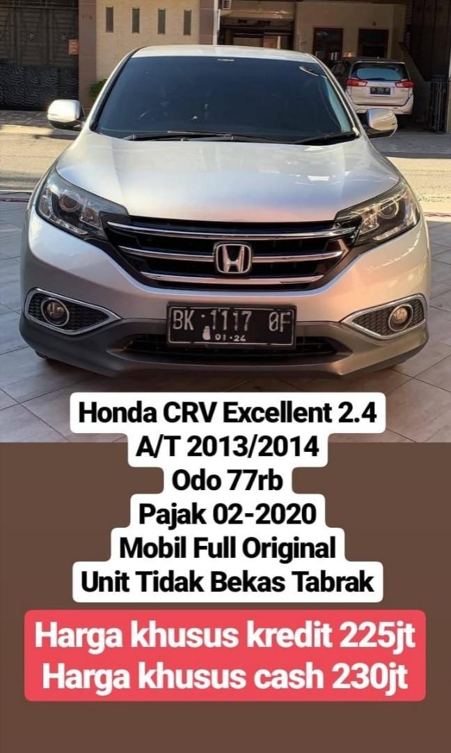 Honda Crv Excellent 2.4 A/T 2013/2014