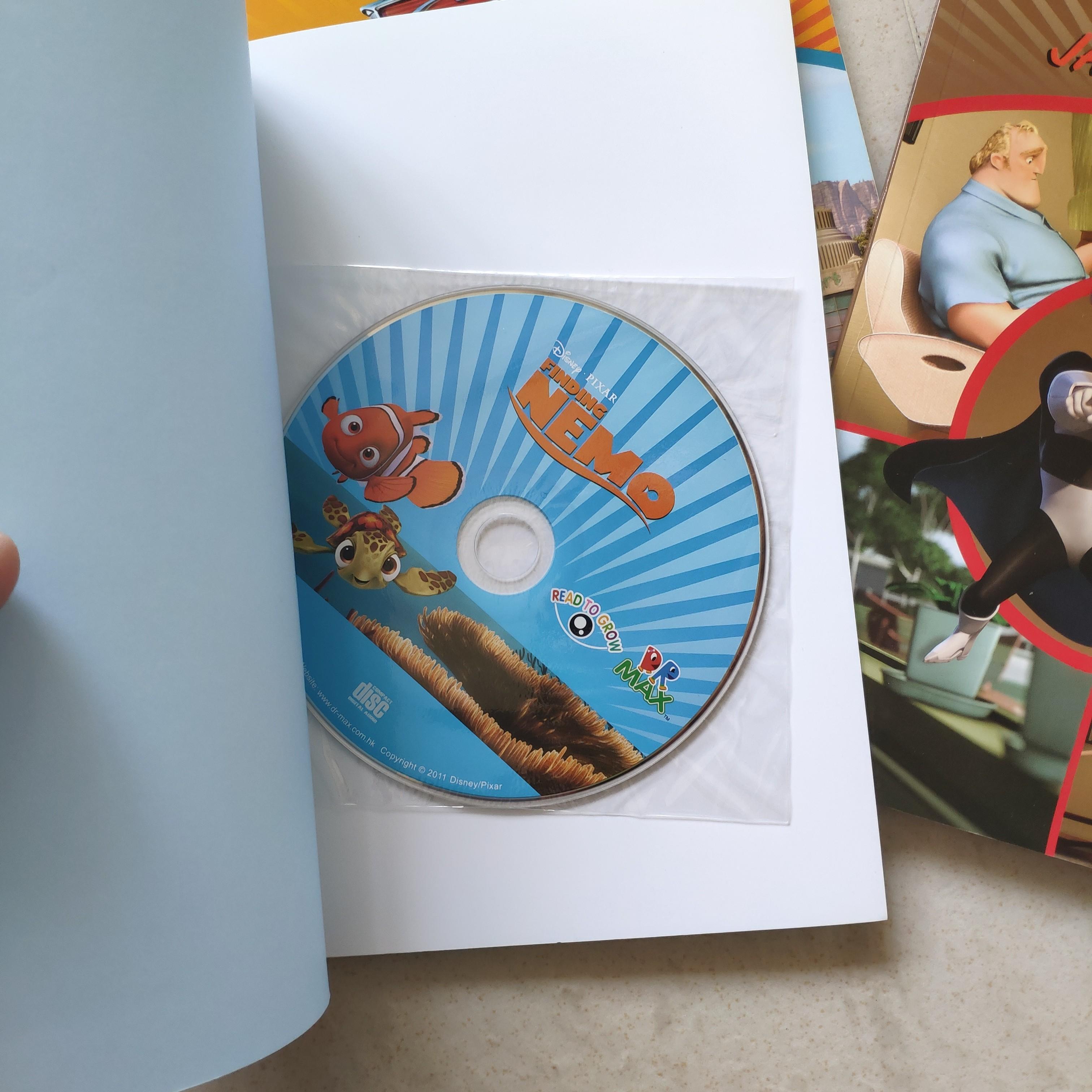 Disney Pixar 故事書 全新 連讀書CD 一套6本