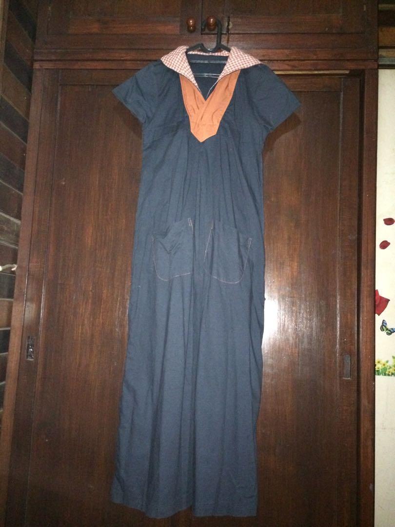 Dress dengan hoddie