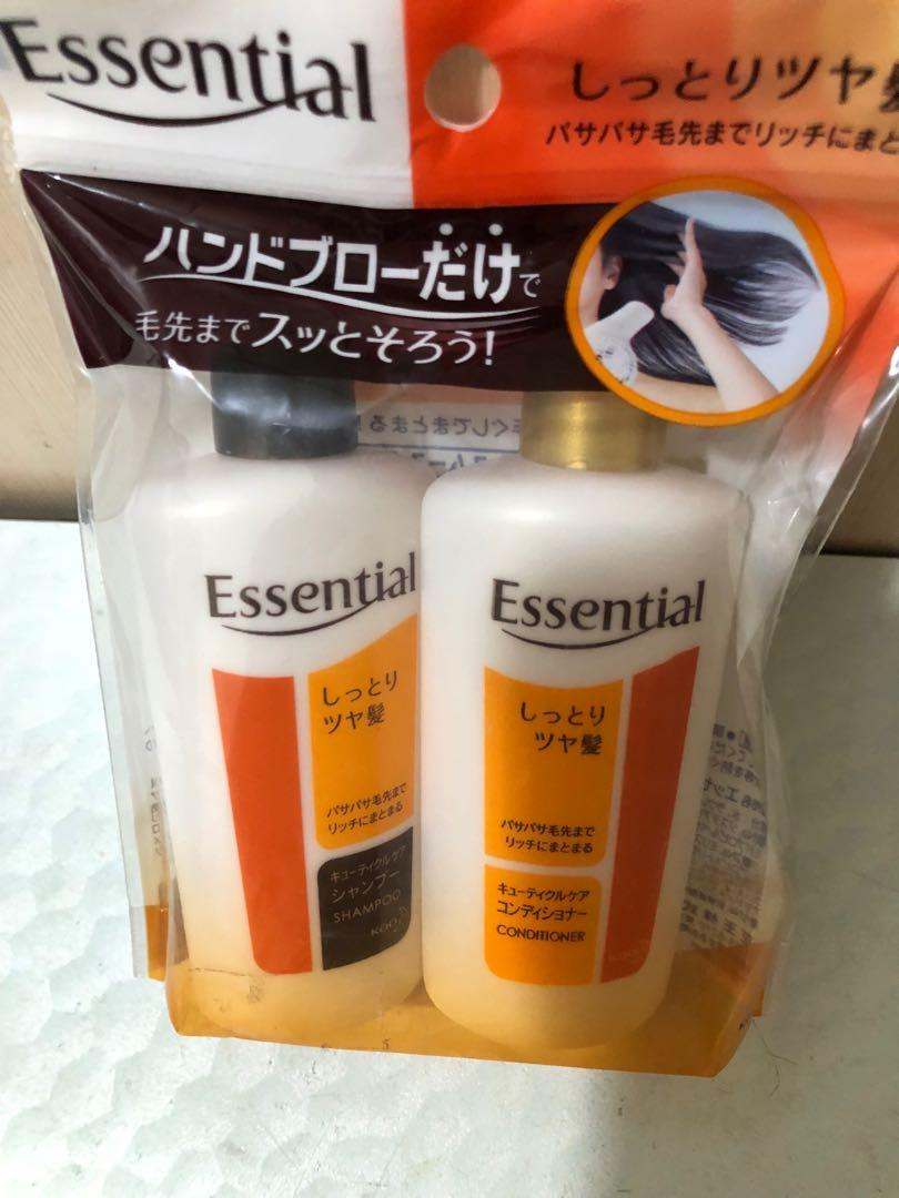 曰本版Essential shampoo&condioner45ml