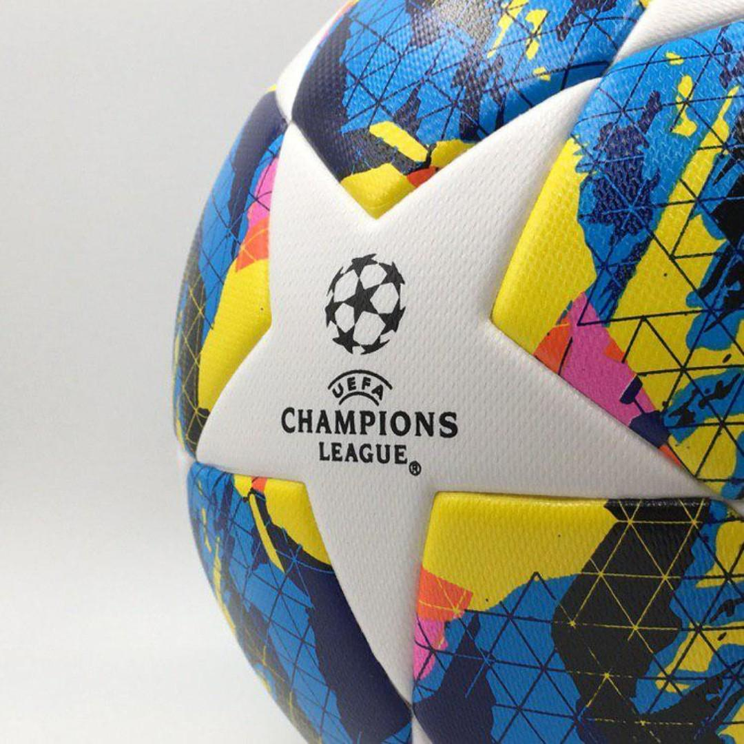 exclusive adidas 2019 20 uefa champions league official top training ball sports sports games equipment on carousell carousell
