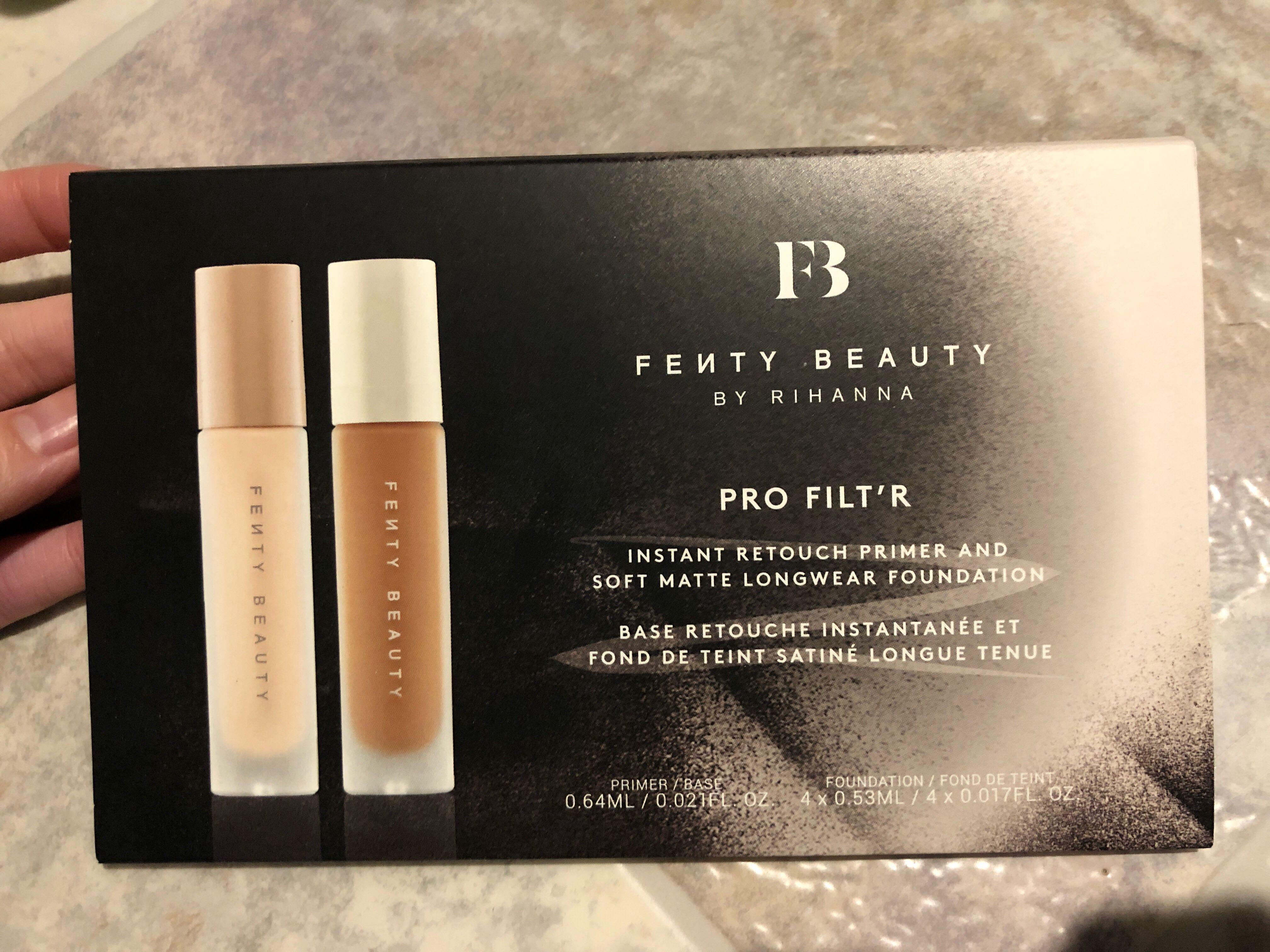 Fenty Beauty Rihanna pro filter primer and foundation