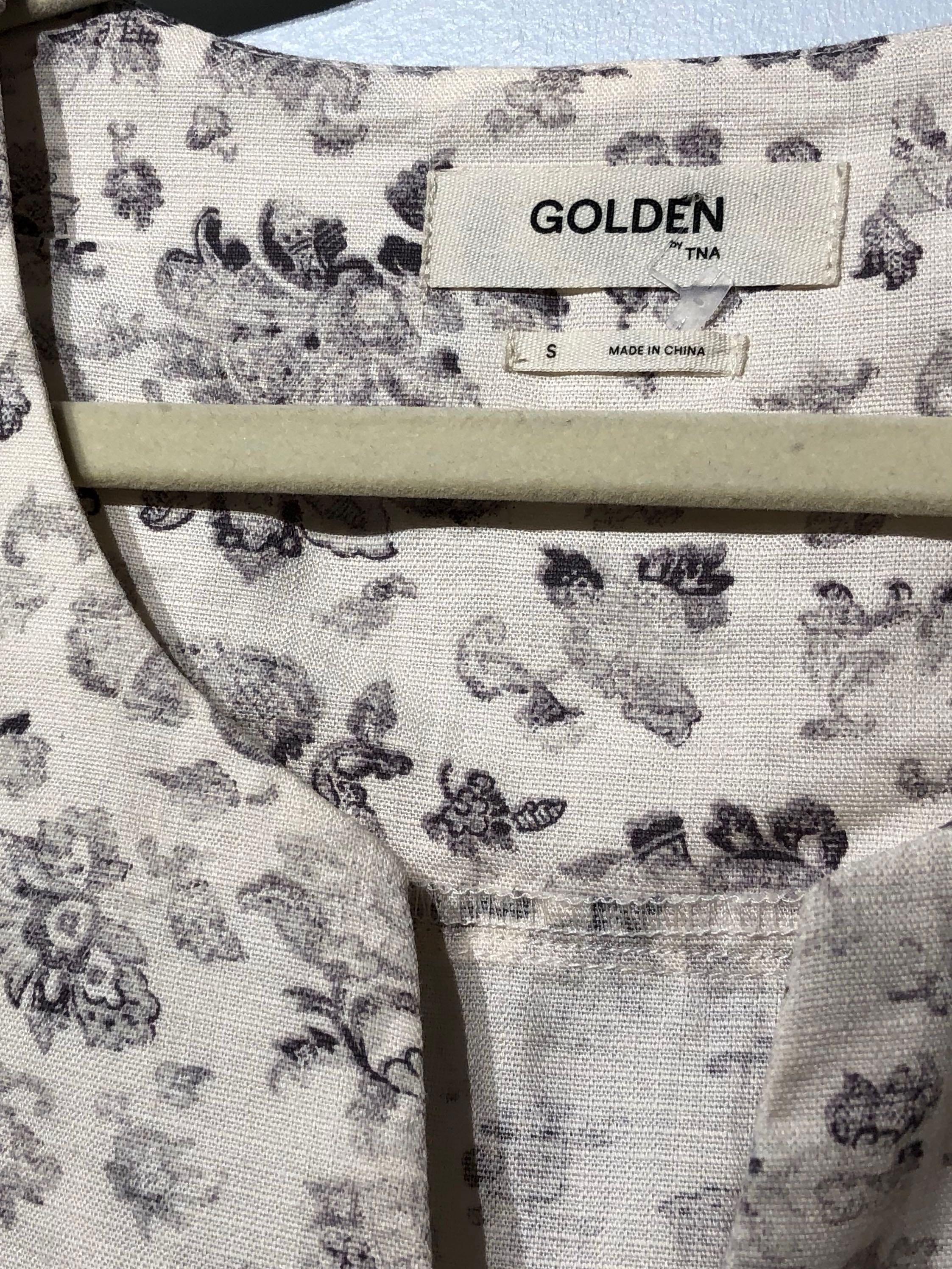 Golden by TNA Farraway Shift Tunic Dress Small