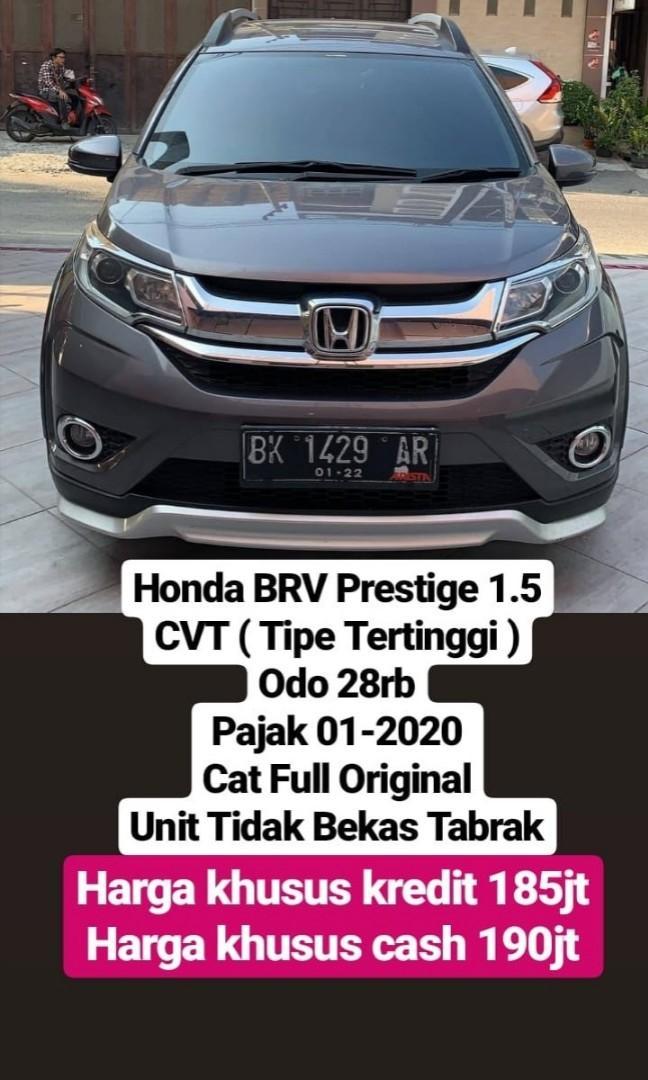 Honda BRV Prestige 1.5 CVT ( Tipe Tertinggi )