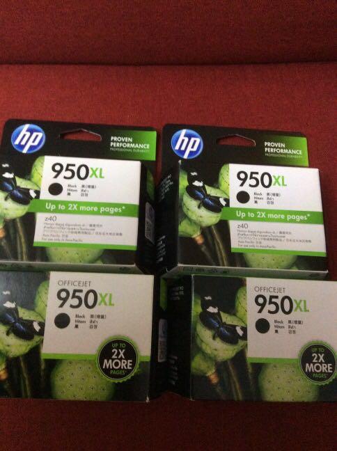 HP Ink Cartridges 950 XL
