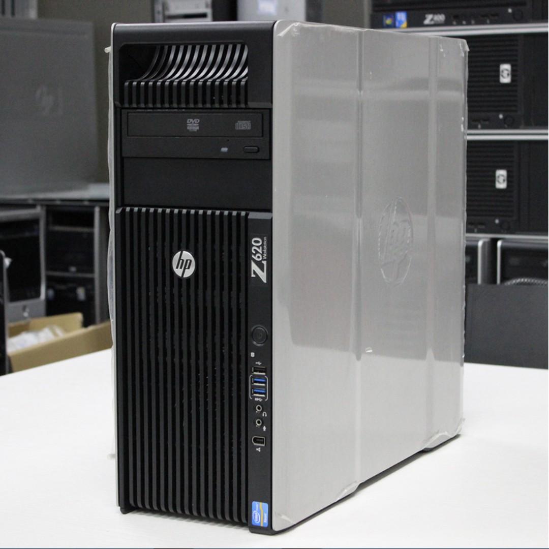 HP Z620 Dual Processor Workstation