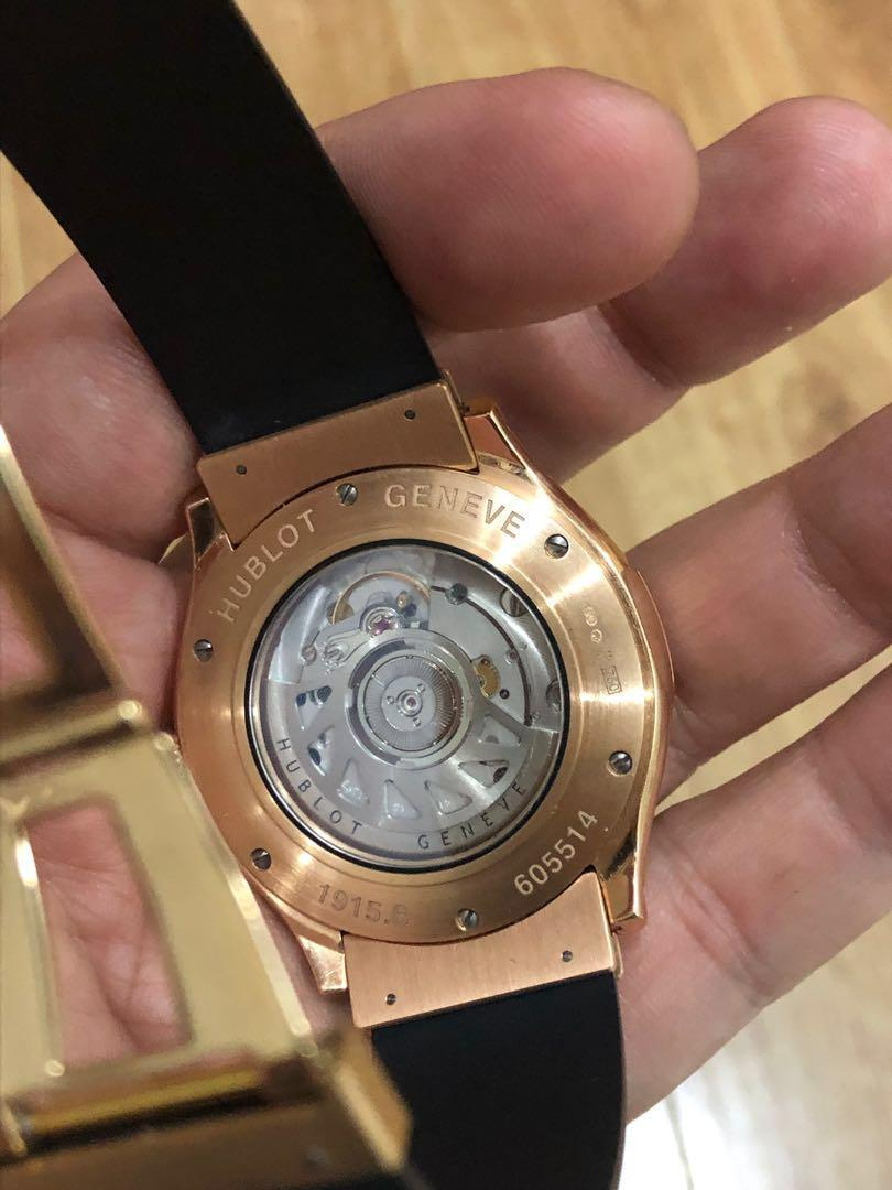 Hublot Fusion Gold 42mm