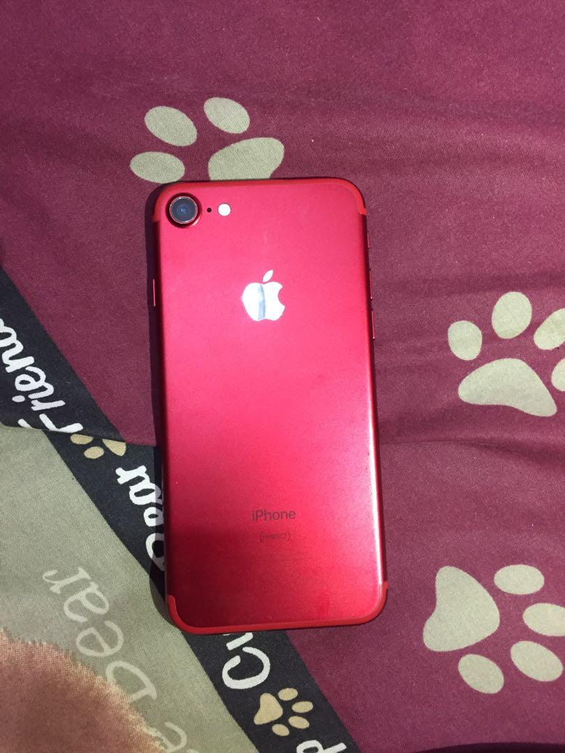 iPhone 7 128gb red edition murah