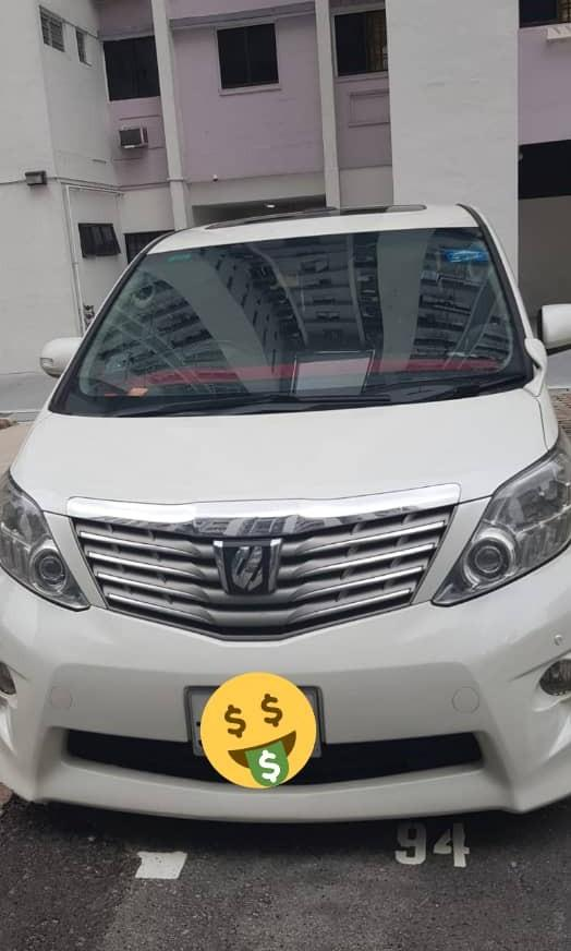 *KERETA SINGAPORE*🇸🇬🇸🇬🇸🇬 *JOIN GROUP WASAP 11👇* https://chat.whatsapp.com/LAMj3R3FxkI6Ap49W75bCP TOYOTA ALPHARD 3.5CC 7 SEATER SUNROOF  *RM 27 000* JB  Wasap.my/60126373536 *WANT SELL BACK YOUR SCRAP CAR?LET ME HELP😊*