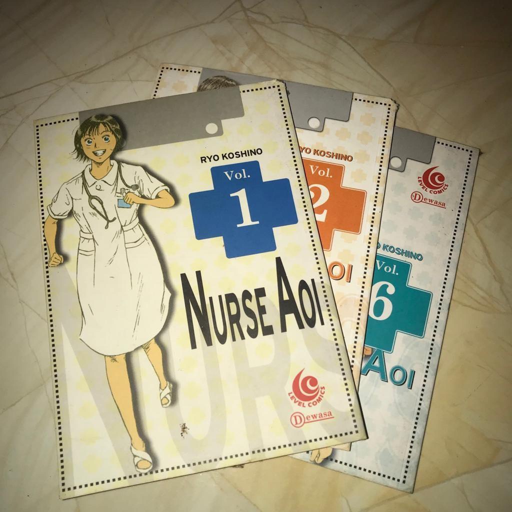 Komik Nurse Aoi 1,2,6