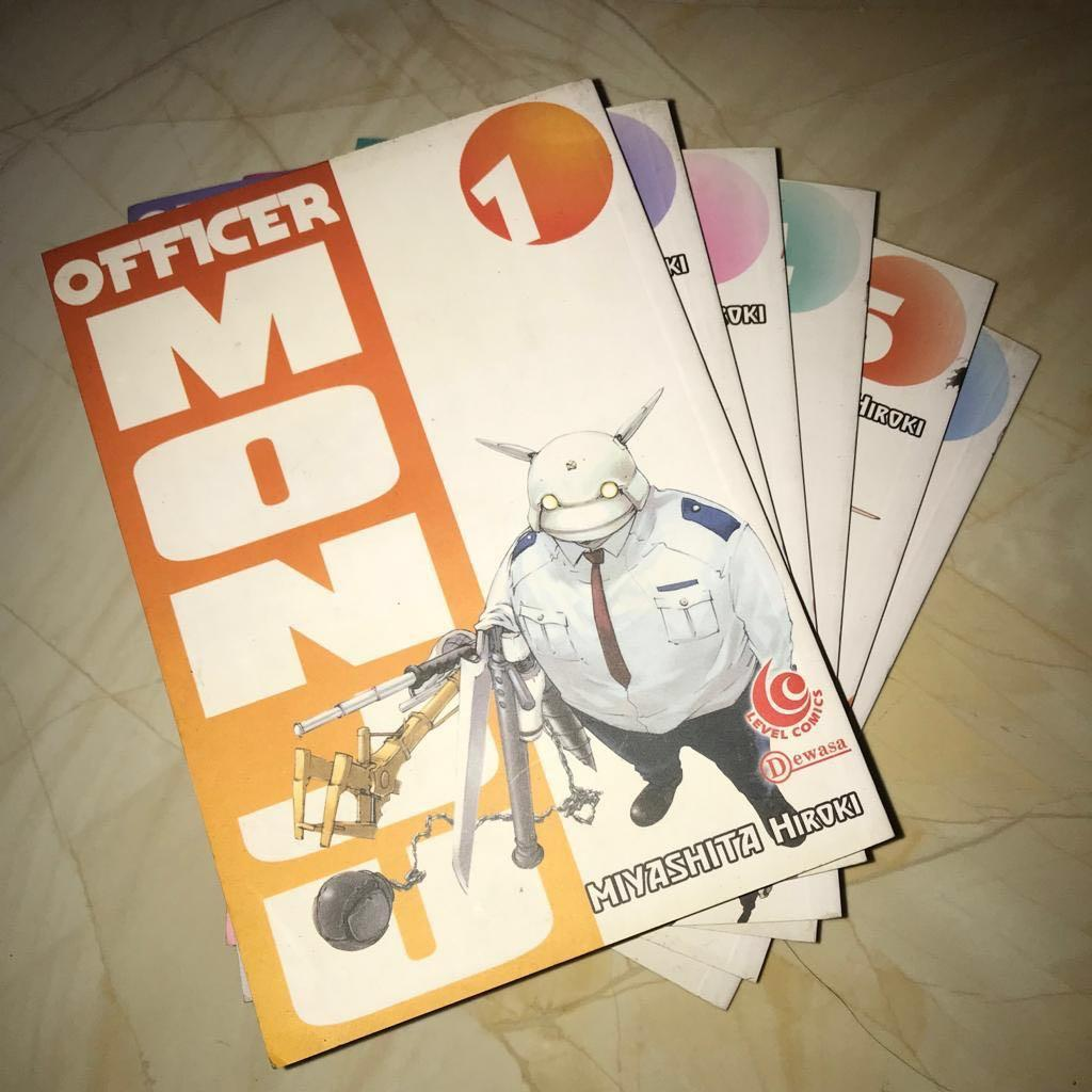 Komik Officer Monju 1-6