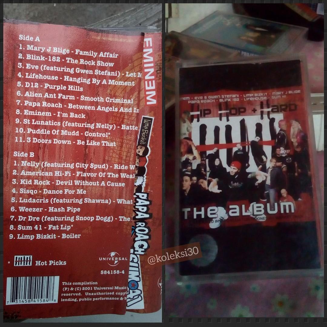Kompilasi tahun 2000an(kaset)