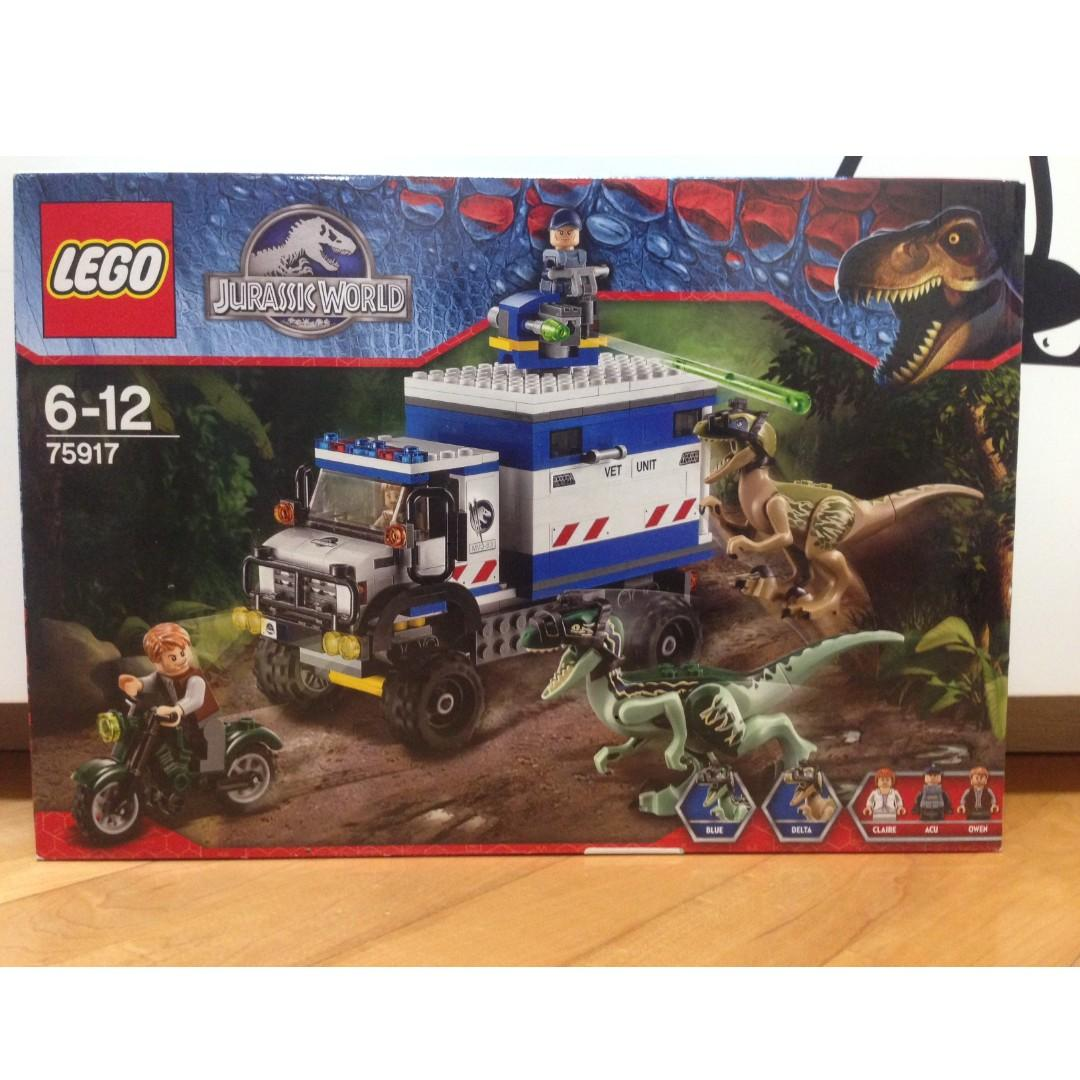 Lego Jurassic World Raptor Rampage (75917)