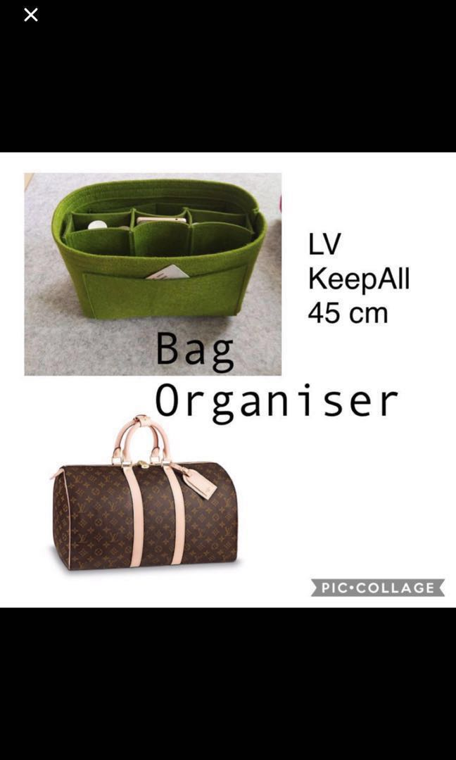 ea0b36a7876 LV Keepall 45 Bag Organiser, Luxury, Bags & Wallets, Handbags on ...