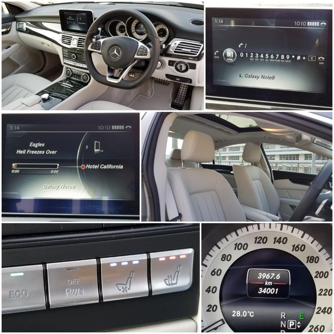 MERCEDES-BENZ CLS400 AMG 2015