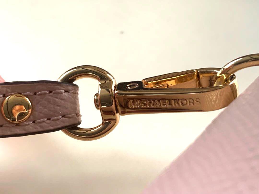 Michael Kors Jet Set Continental Travel Long Wallet Soft Pink