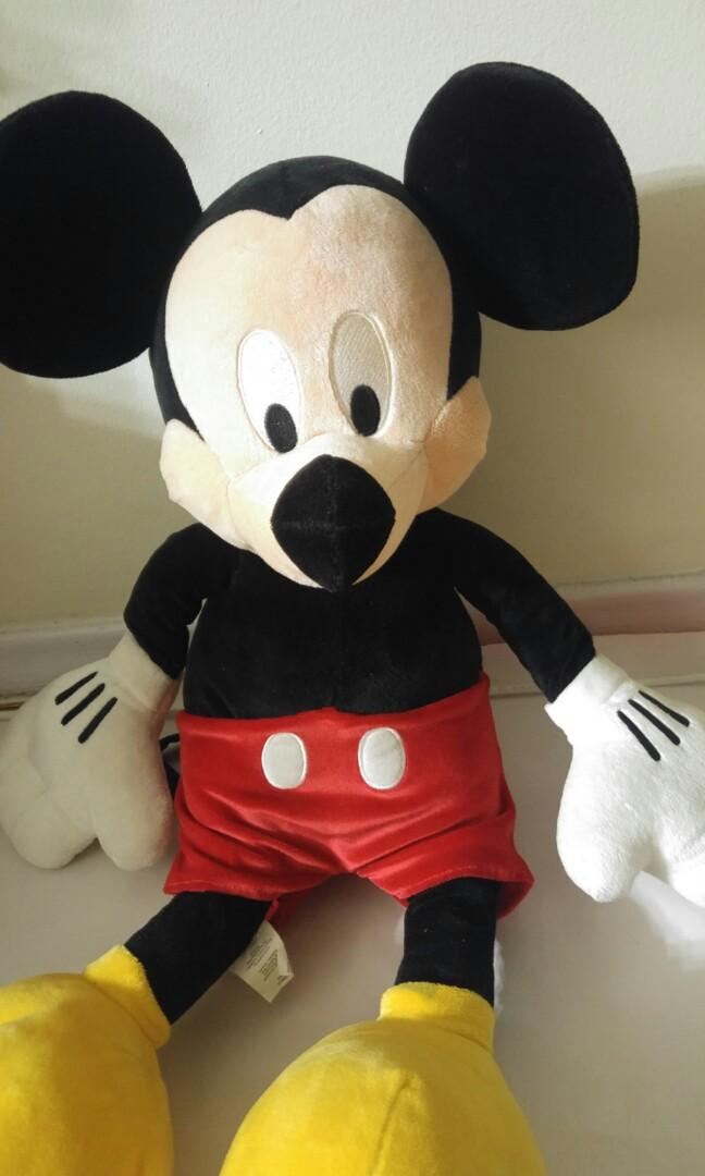 Mickey Mouse Plushie 25""