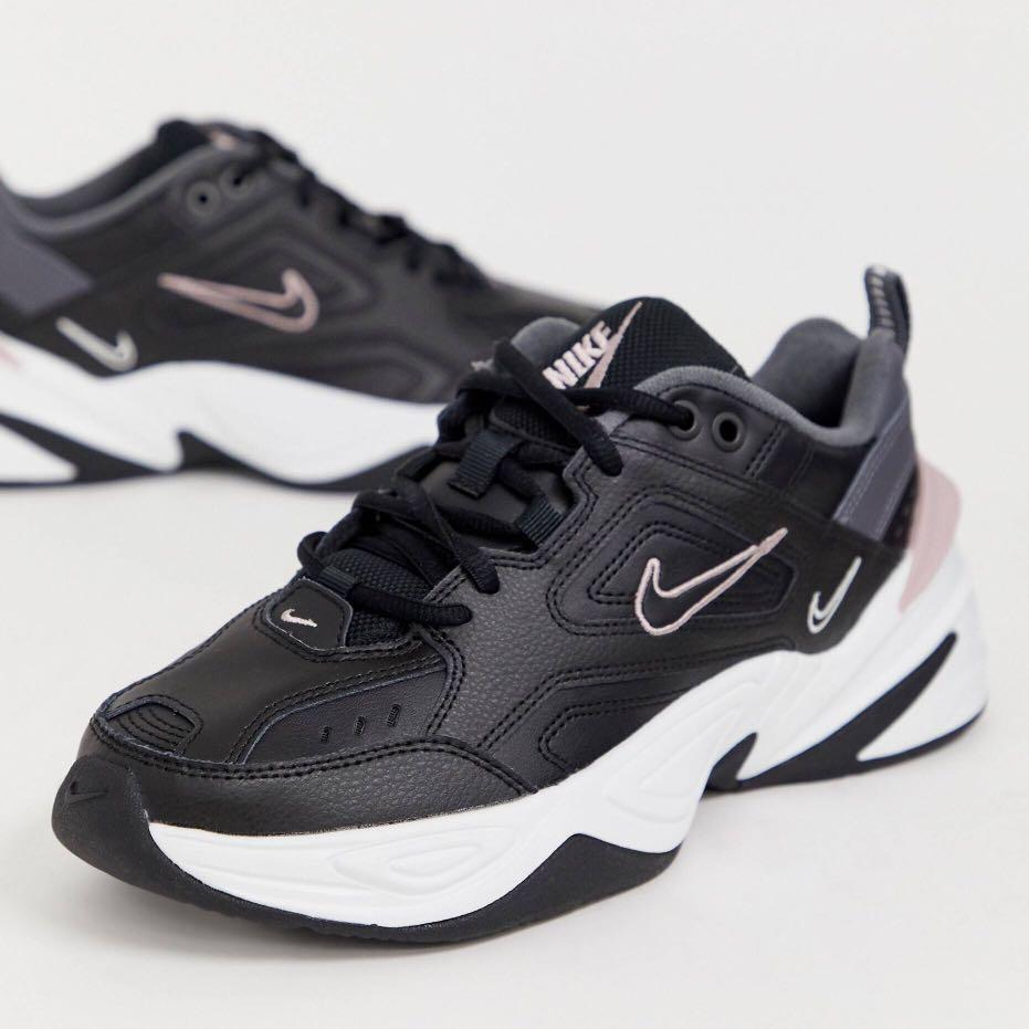 Nike M2K Tekno Trainers in Black and