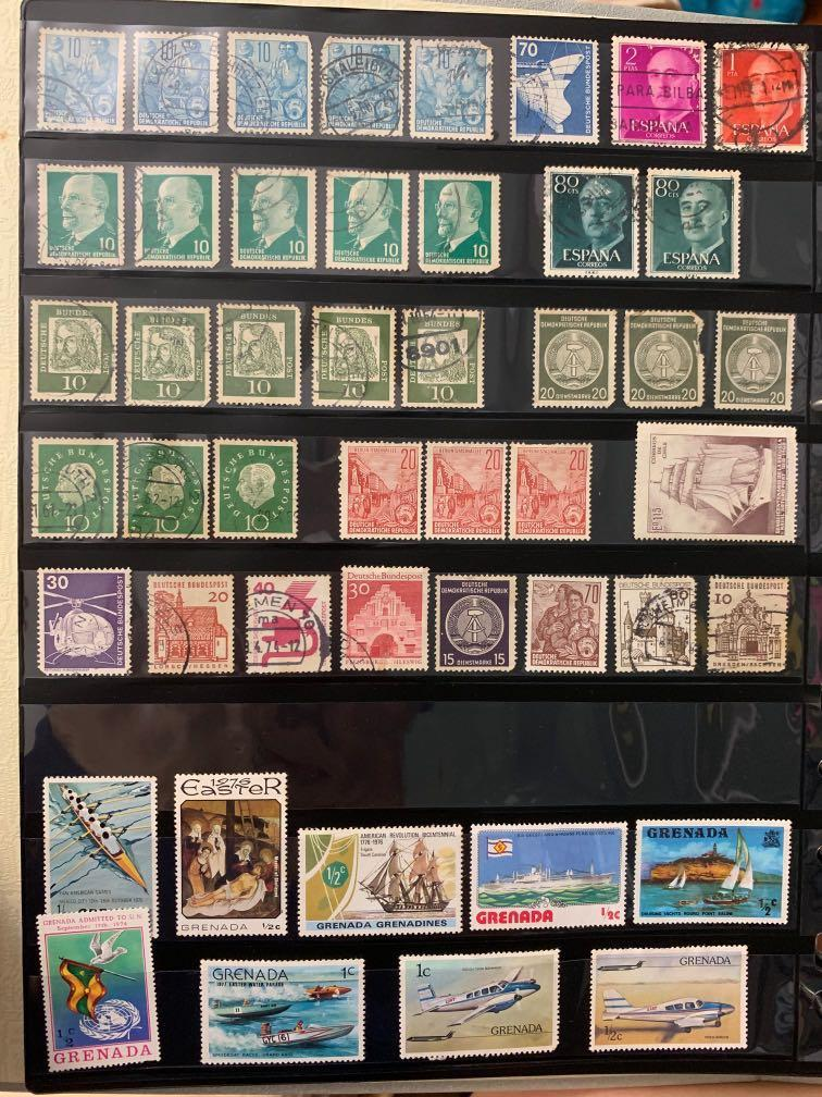 Old Heritage Stamps Collection