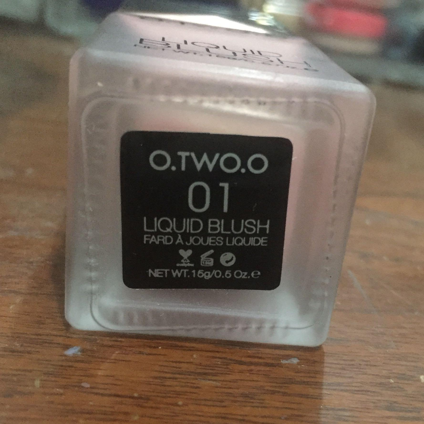 [TURUN HARGA] O.TWO.O LIQUID BLUSH