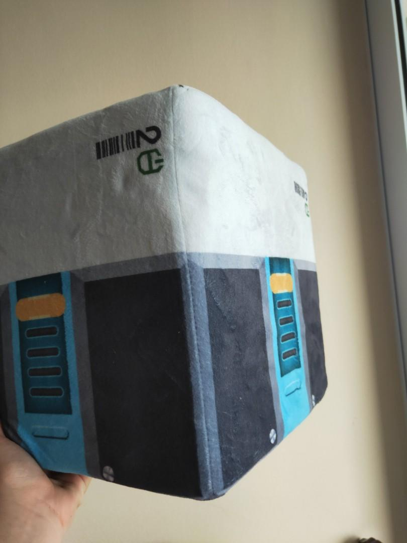 Overwatch crate stuffed toy cube