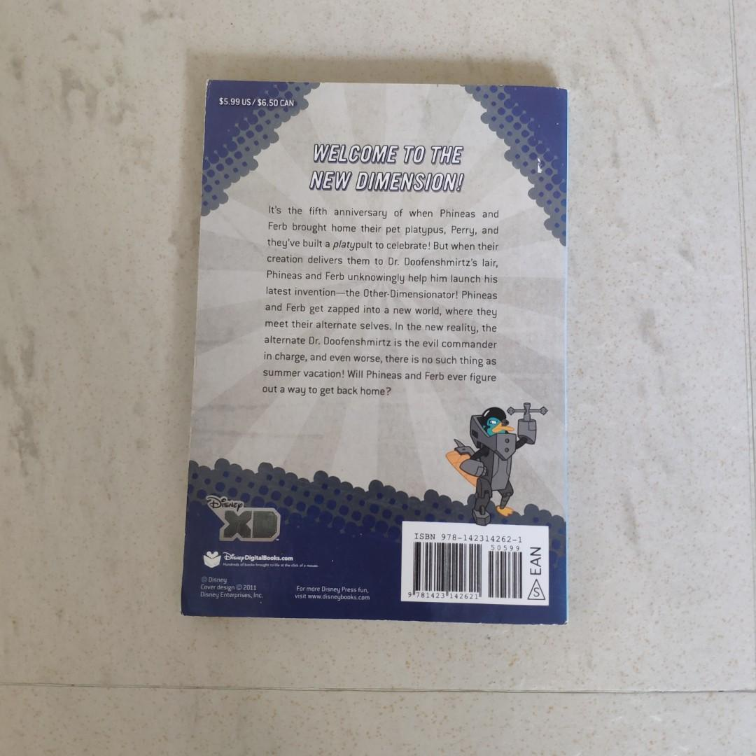 Phineas and Ferb 英文故事書