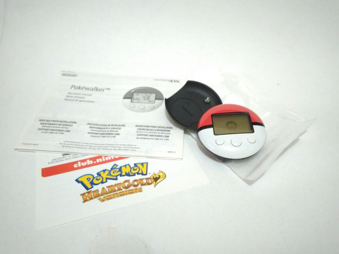 Pokewalker nintendo ds pokemon heartgold