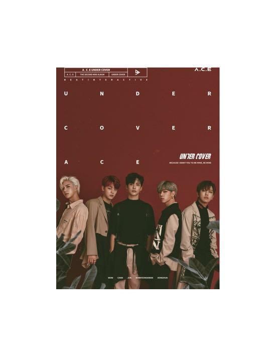 [Preorder] A.C.E 2nd Mini Album - UNDER COVER CD + Poster
