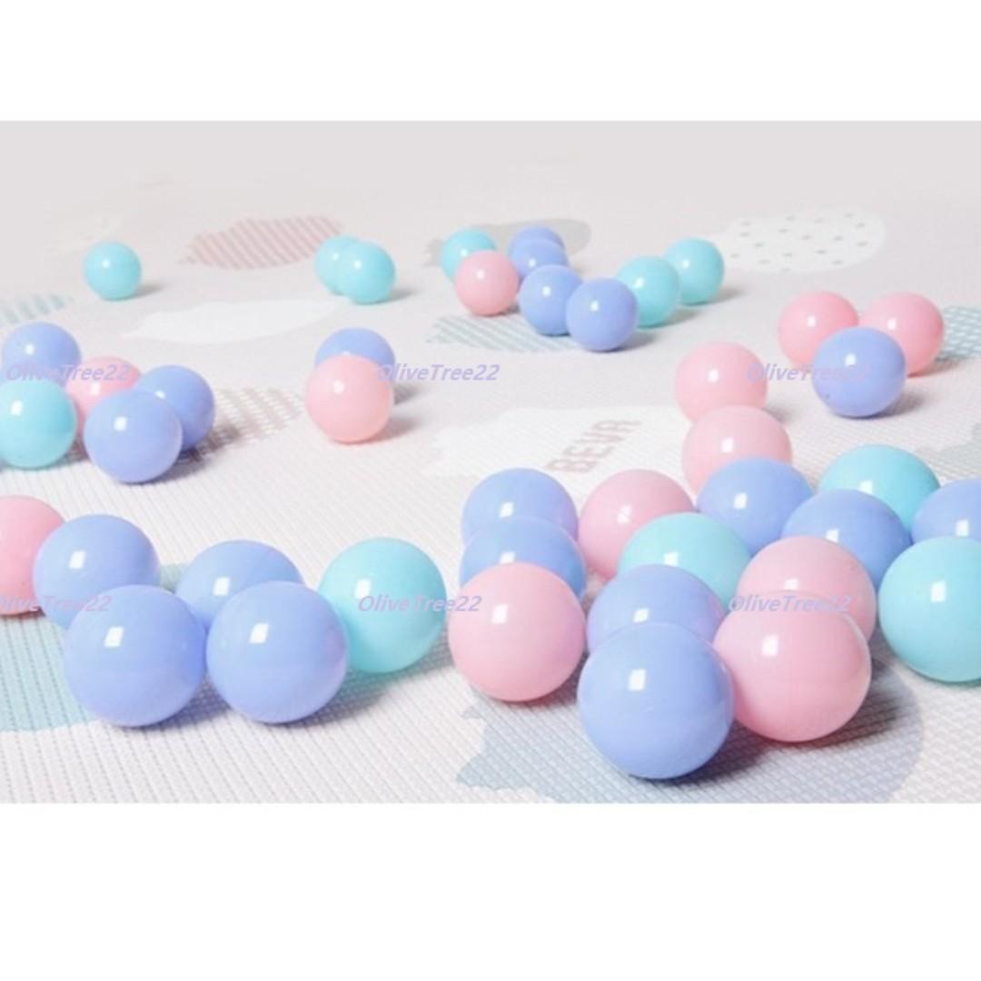Ready Stock - Pit Balls Ocean Balls Kids Colour Ball Tent Balls Playard Balls