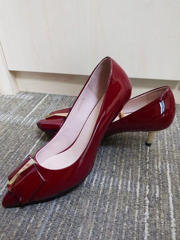 Red Pazzion Heels