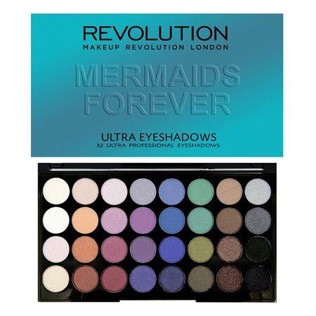Revolution Mermaids Forever ultra eyeshadows palette