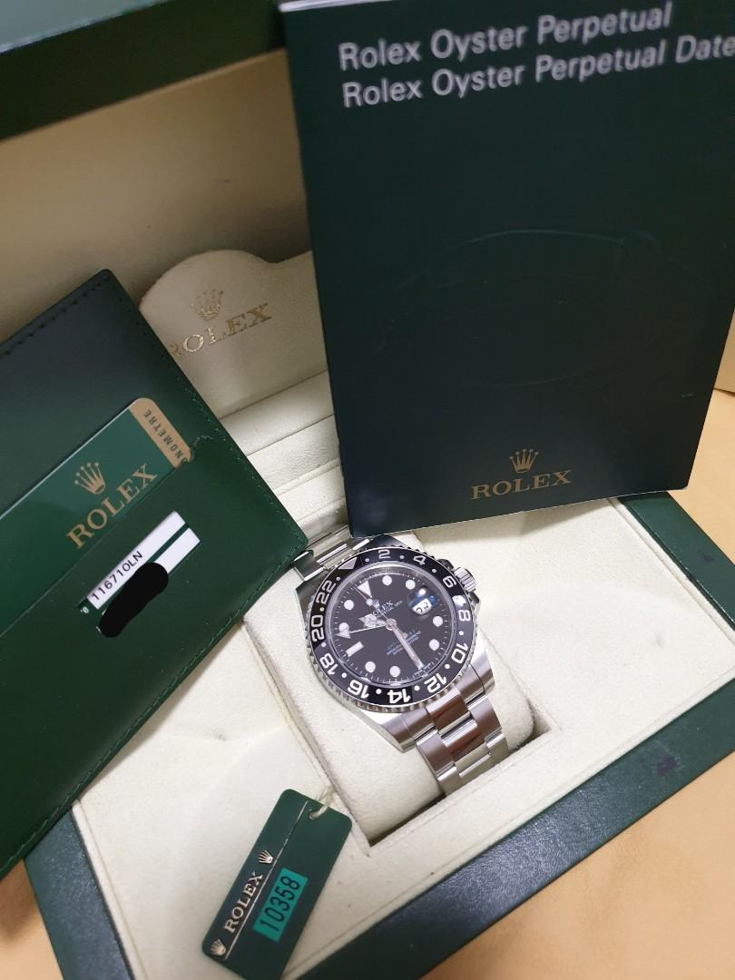 Rolex GMT Master 2  Steel Discontinued Model